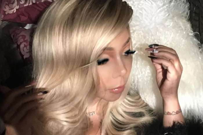 Tiny Harris Wears Black Lingerie And Blond Hair In New Photo Giving T.I. A Reason To Expeditiously Forget The Side Chicks