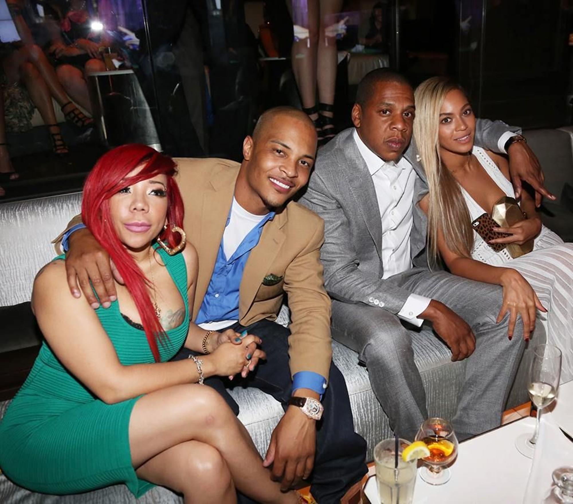 Tiny Harris T.I. Jay-Z Beyonce NFL