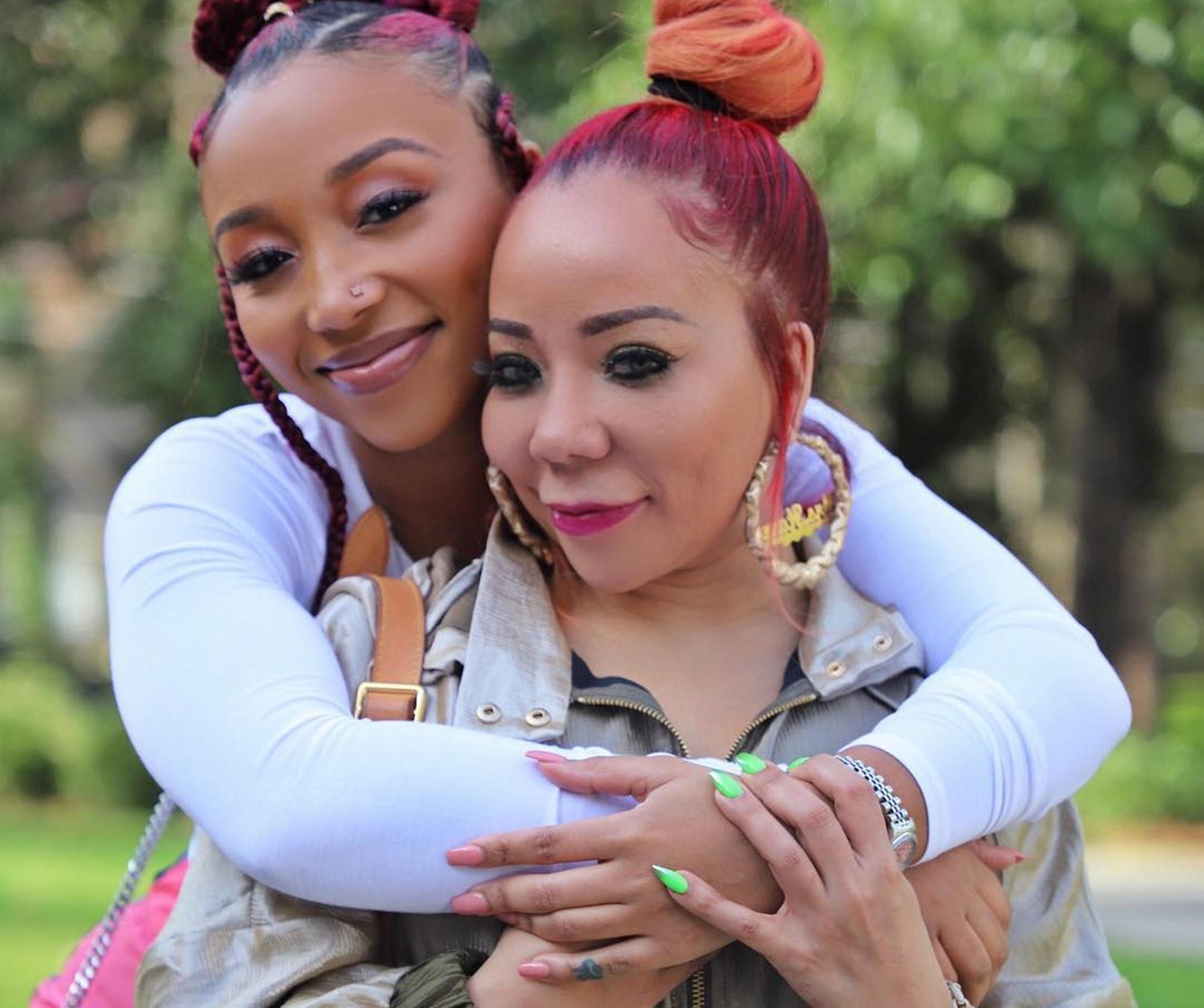 Tiny Harris And Zonnique Pullins Have The Sweetest Fight Over Dianne Cottle-Pope With Never-Before-Seen P...