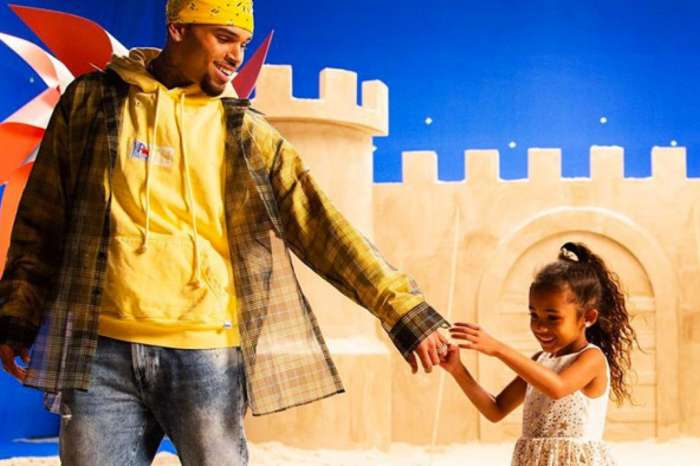 Chris Brown Posts Cute Snap Of Daughter Royalty Ready For Her First Day Of School!