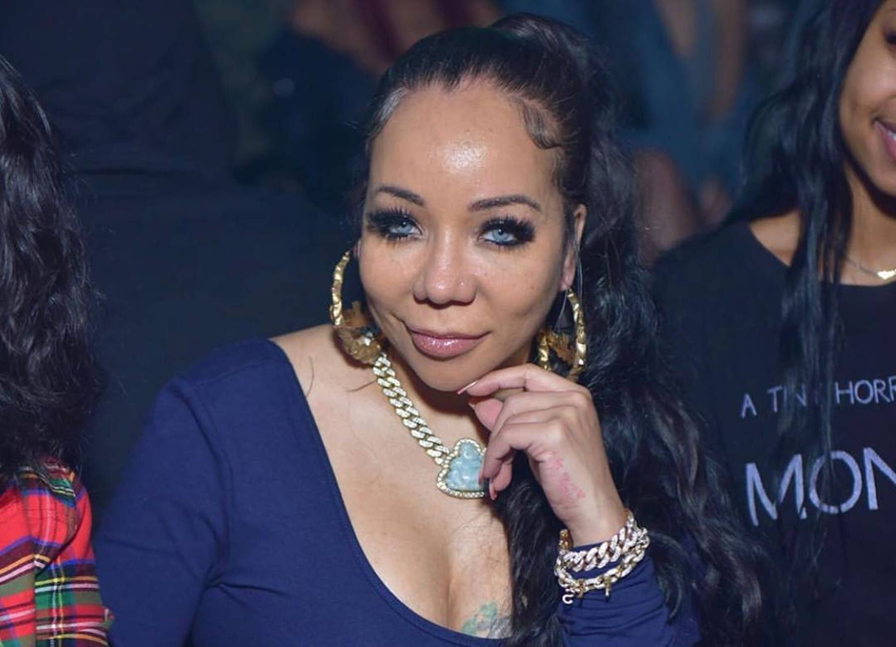Tiny Harris' Latest Pics From The Filming Of Her New Video Have Fans Saying She's Aging Backwards