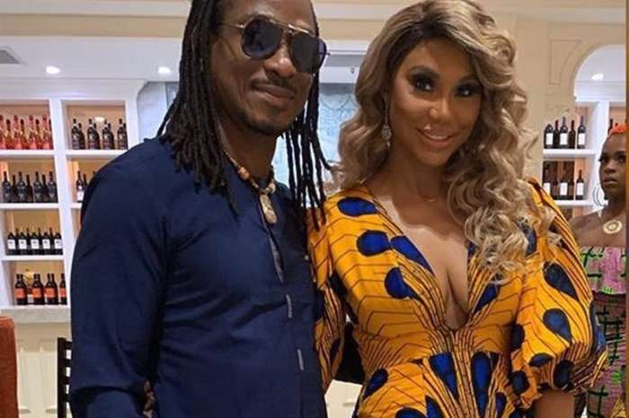 Tamar Braxton Shares A Video In Which She And David Adefeso Are Drinking And Fans Love Her Makeup-Free Face