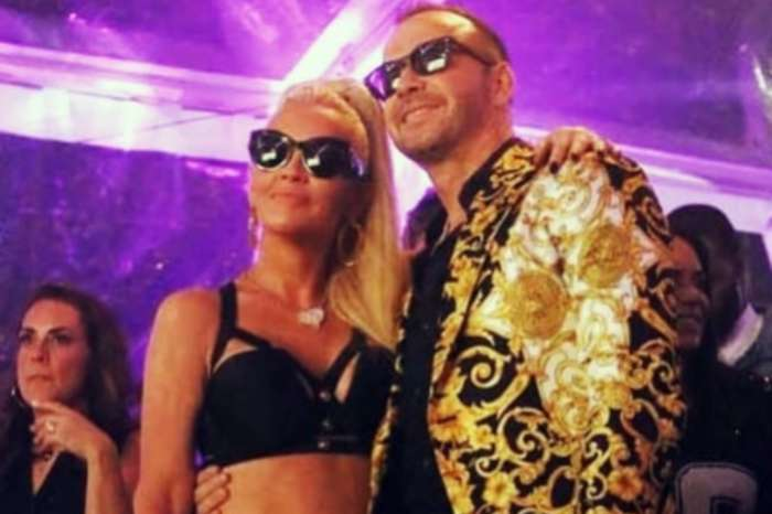 Jenny McCarthy Dazzles In Versace As She Throws Hubby Donnie Wahlberg An Epic 50th Birthday Party