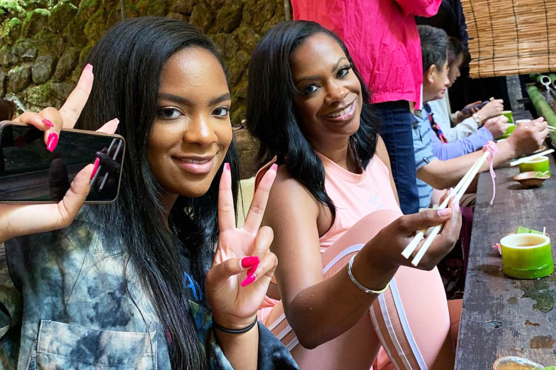 Kandi Burruss Shares More Pics From BeautyCon Event - Check Out Riley Burruss In The Pics