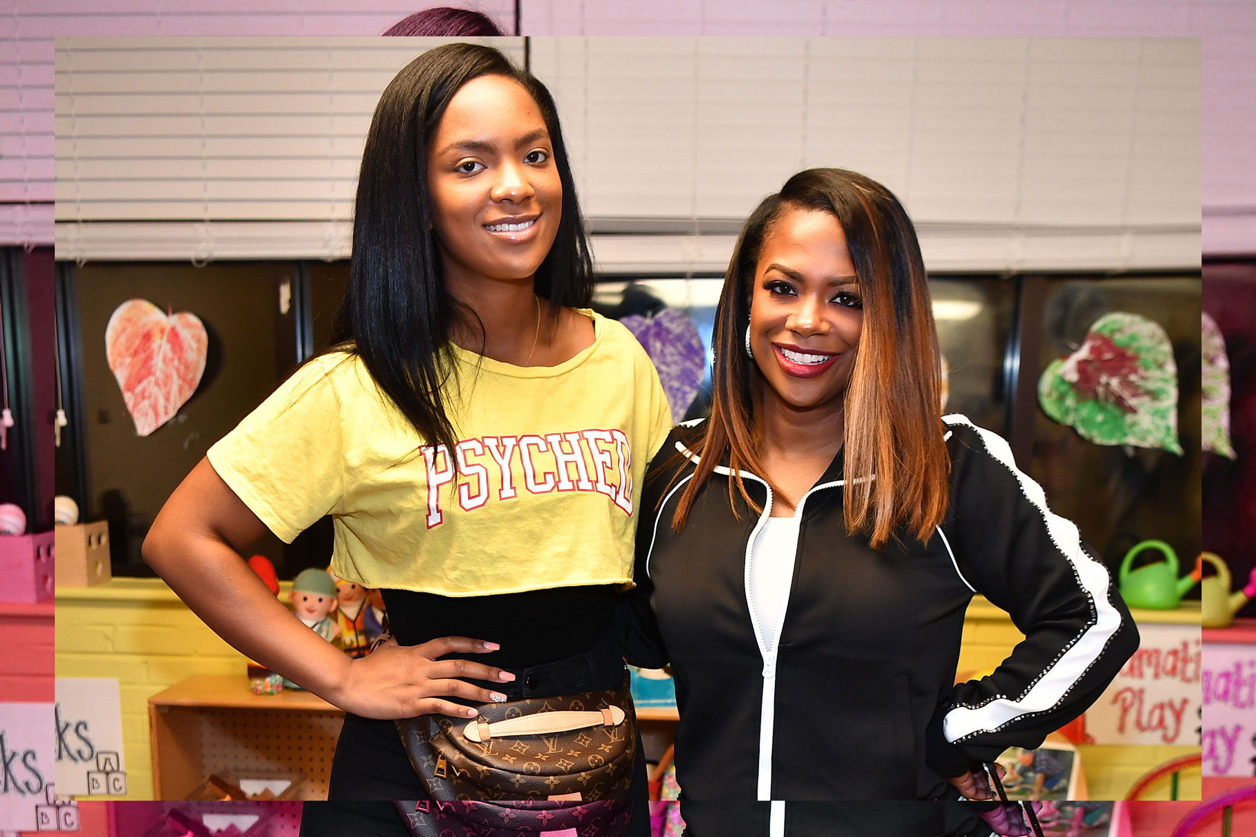 Kandi Burruss Brings Her Daughter Riley Burruss To The BeautyCon Event - See The Clip