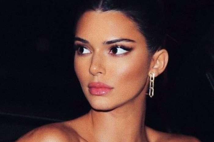 Kendall Jenner Rocks Mini-Dress As She And Khloe Kardashian Skip Kylie's Birthday Party
