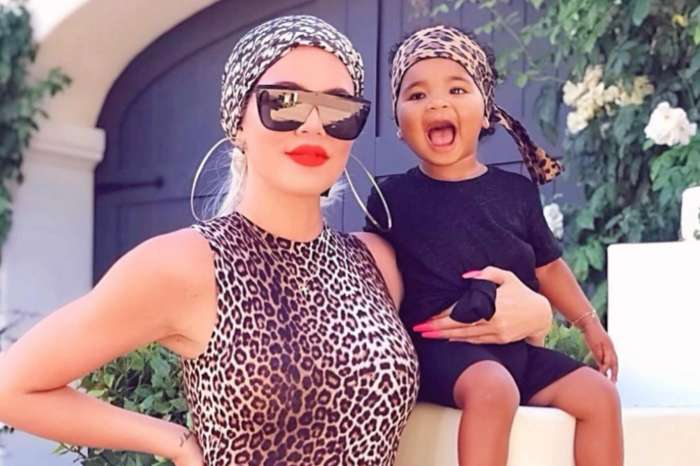 Khloe Kardashian And True Thompson Are Twinning On Instagram In Leopard Print