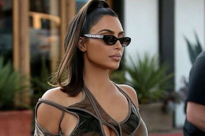 Kim Kardashian Rocks Curve Hugging Dress In New Viral Photos
