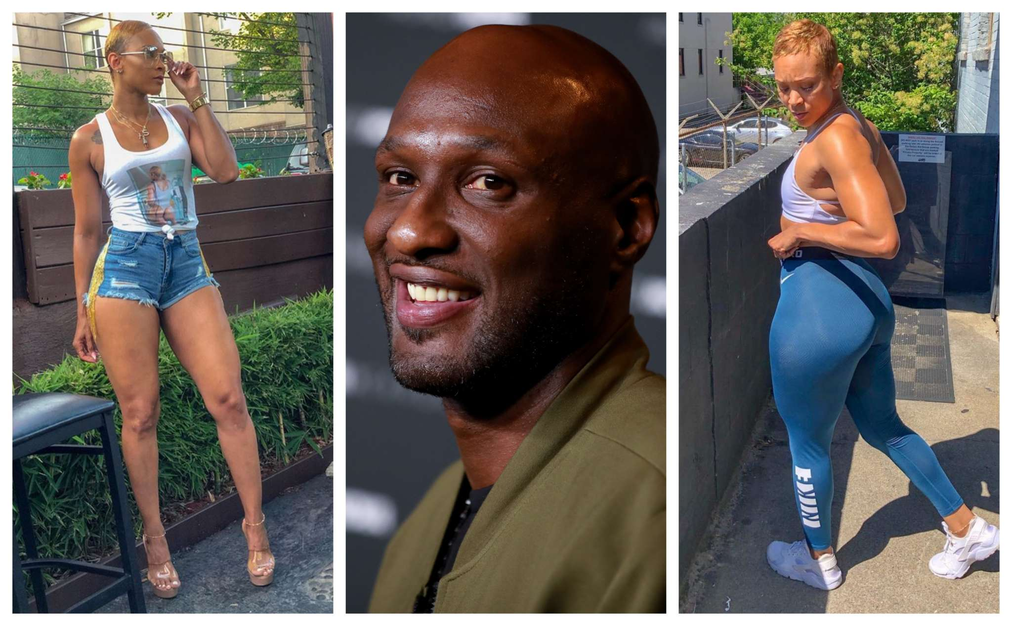 Lamar Odom Steps Out with New Girlfriend, Defends Her on Social Media