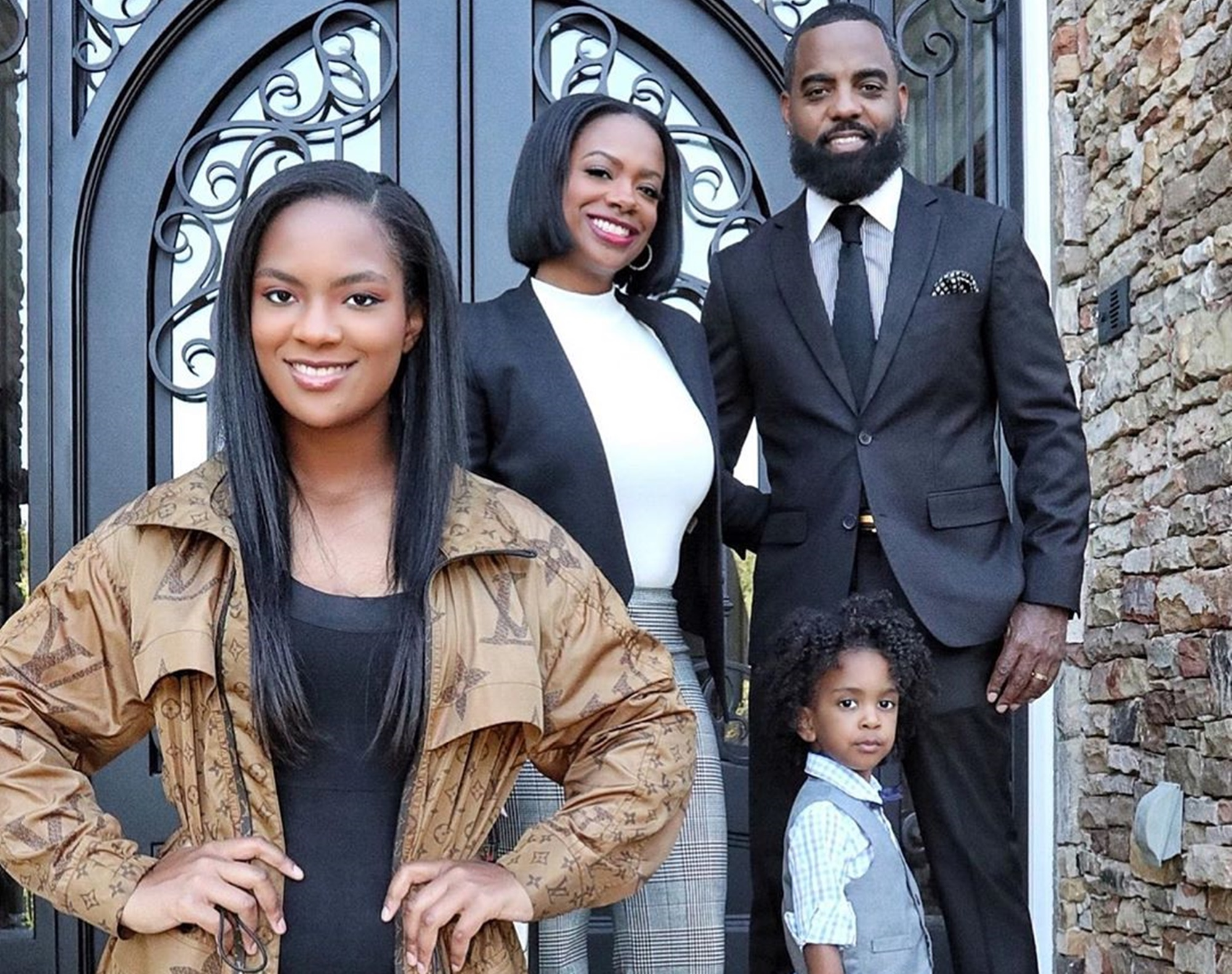 Kandi Burruss Dances Like There's No Tomorrow With Todd Tucker, Riley Burruss And Ace Wells Tucker - Check Out The Video