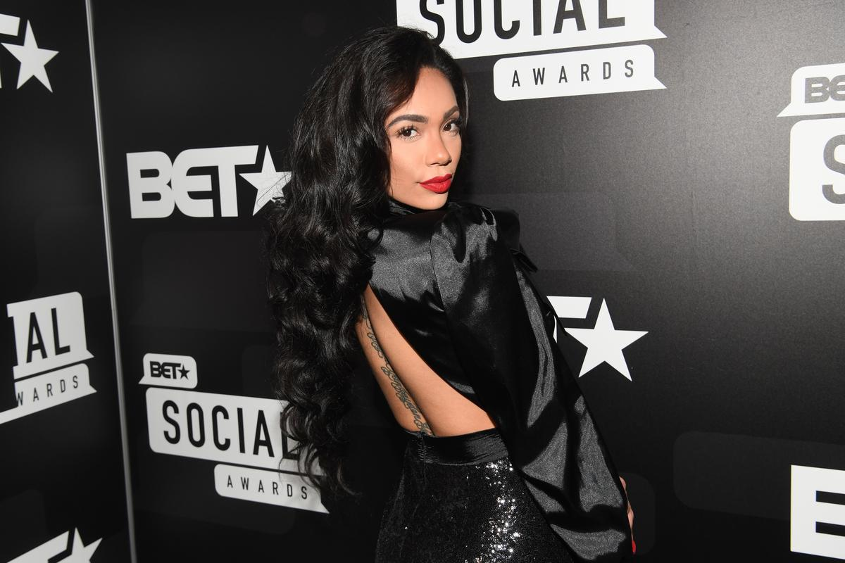 Erica Mena Looks Drop-Dead Gorgeous At The Diamond Ball - Safaree Is Blown Away