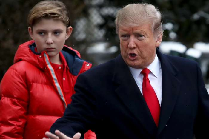 Stephen Colbert And Trevor Noah Ridicule Donald Trump For Calling His Youngest Child, Barron, 'Melania's Son'