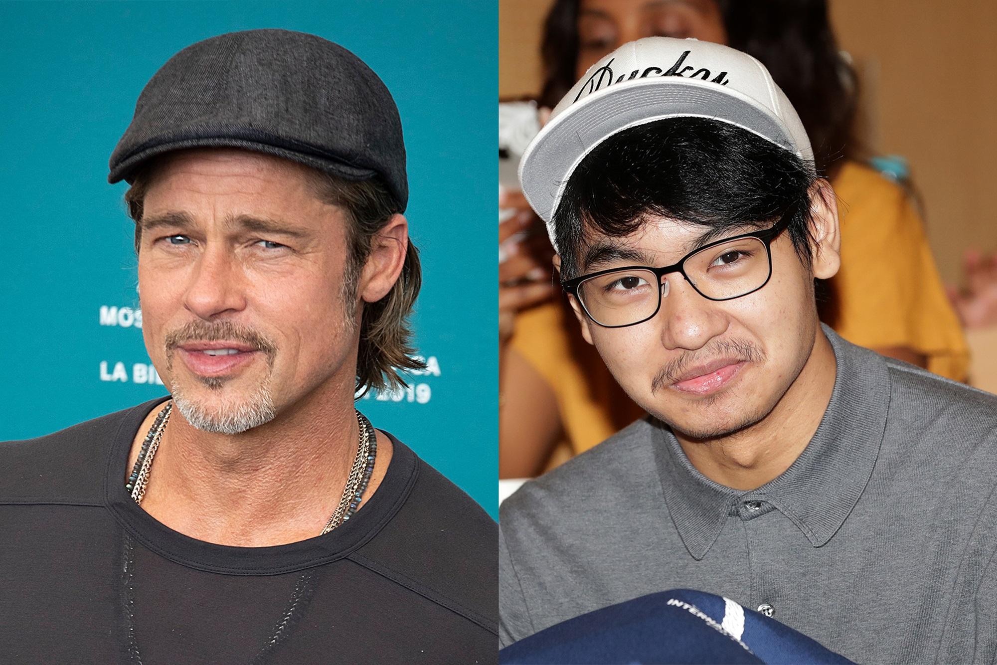 Brad Pitt Maddox Jolie South Korea