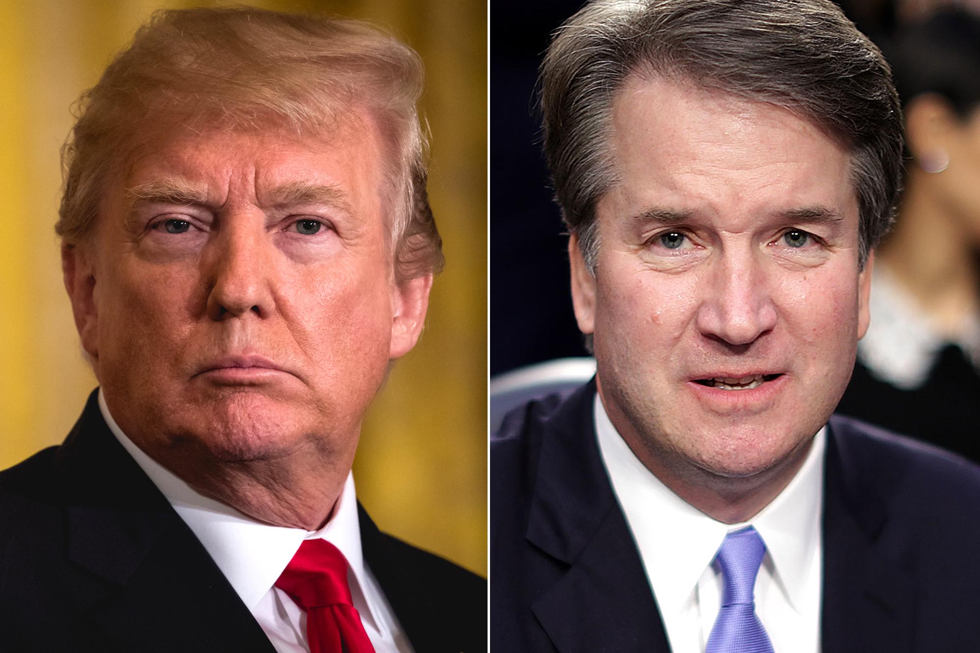Donald Trump Brett Kavanaugh New Accusation