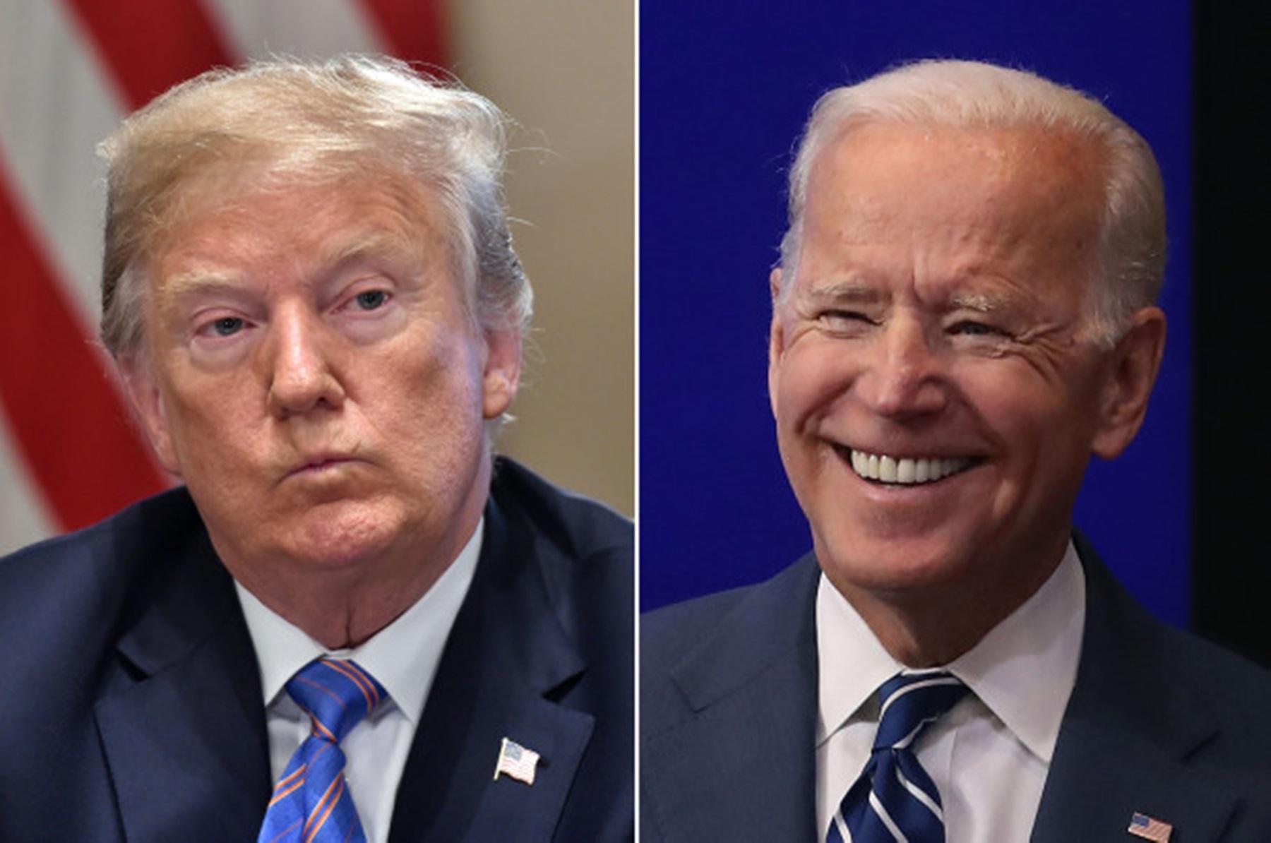 Donald Trump Joe Biden New Hampshire