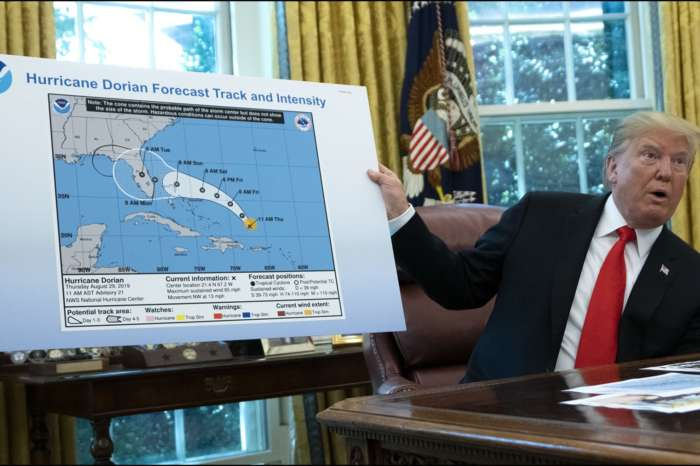 Donald Trump Cannot Stop Talking About The Confusing Hurricane Dorian Map That Was Changed With A Sharpie