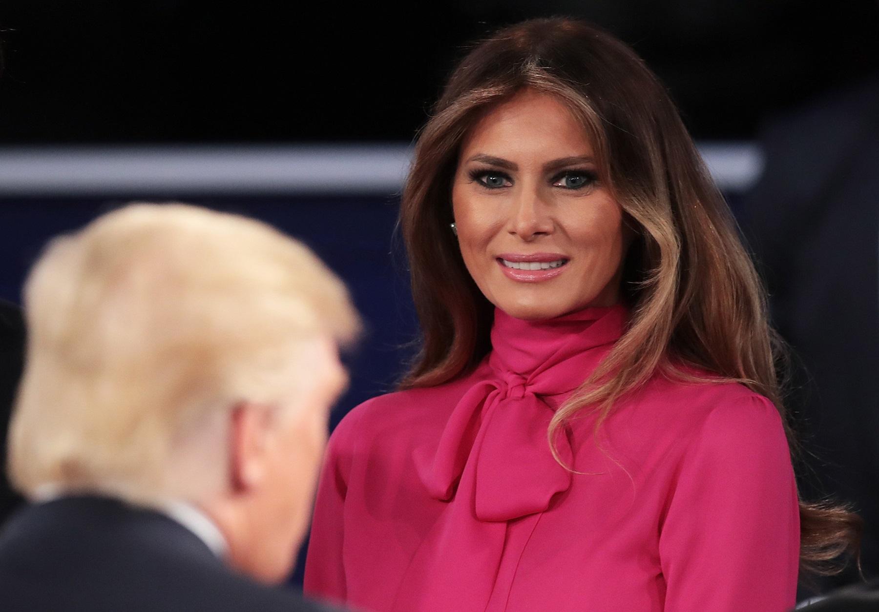 Donald Trump Melania New Fashion Move