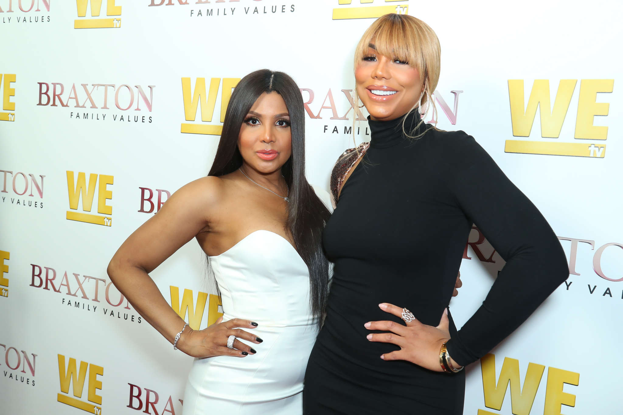 Tamar Braxton Says Someone Taught Her Mom Evelyn To Take Pics With 'Duck Lips'