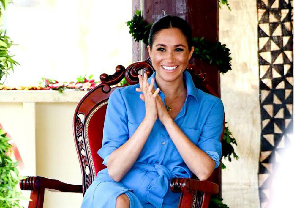 Meghan Markle makes the most stylish return from maternity leave