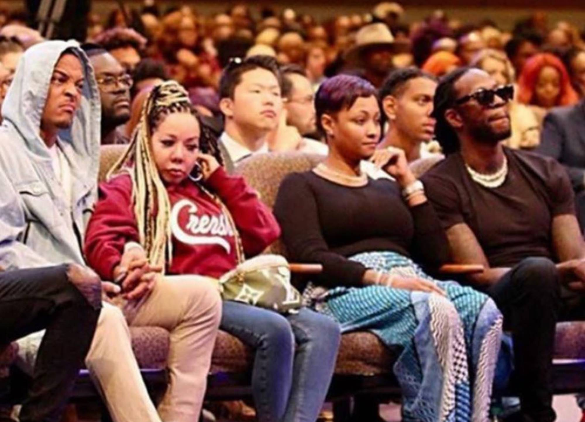 """""""t-i-finally-explains-why-he-looked-angry-and-disgusted-in-this-photo-with-tiny-harris-sitting-by-him-while-in-church"""""""