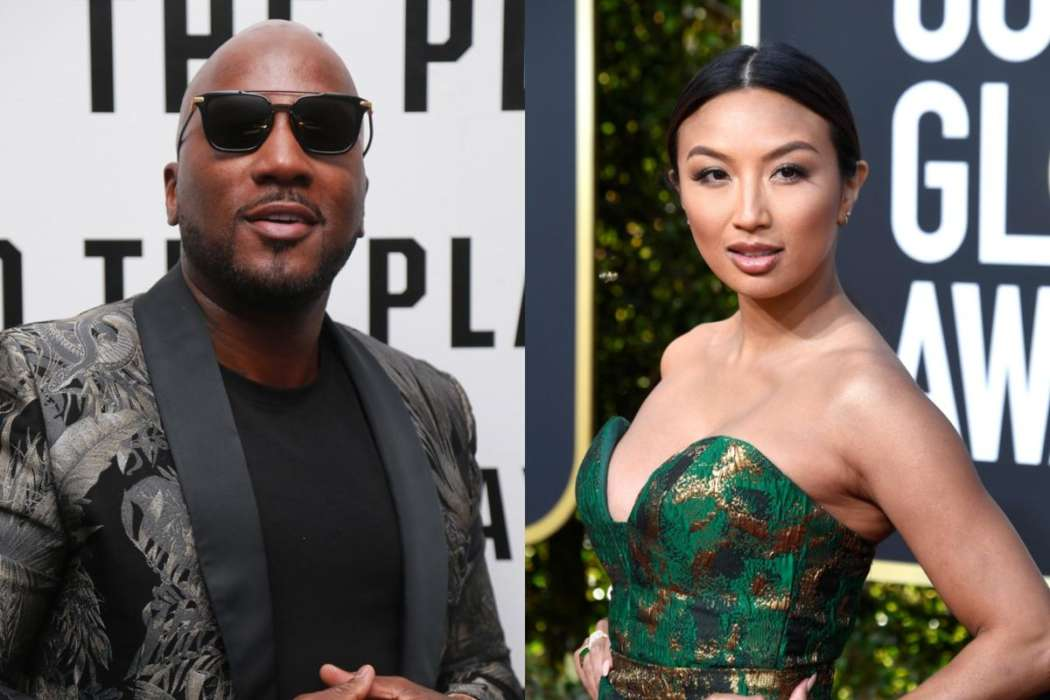 Young Jeezy and Jeannie Mai