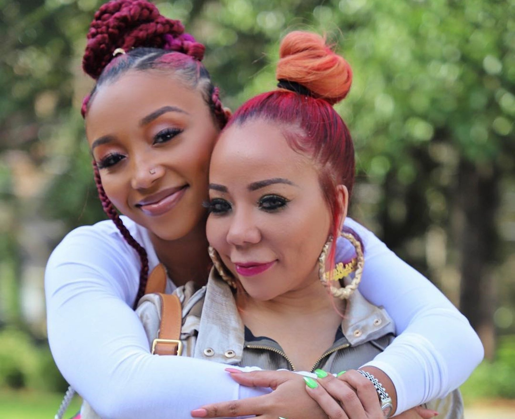 Tiny Harris Gushes Over Her Firstborn, Zonnique Pullins - Fans Are Amazed By Their Resemblance