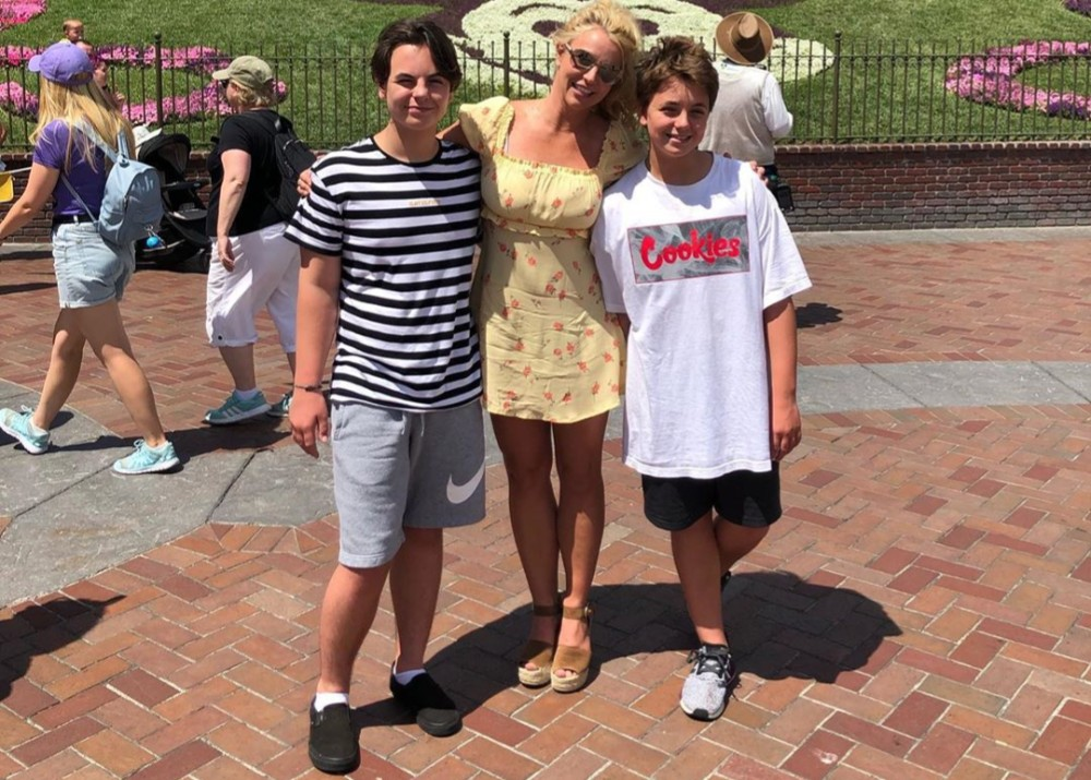 Britney Spears And Kevin Federline Ink New Child Custody ...