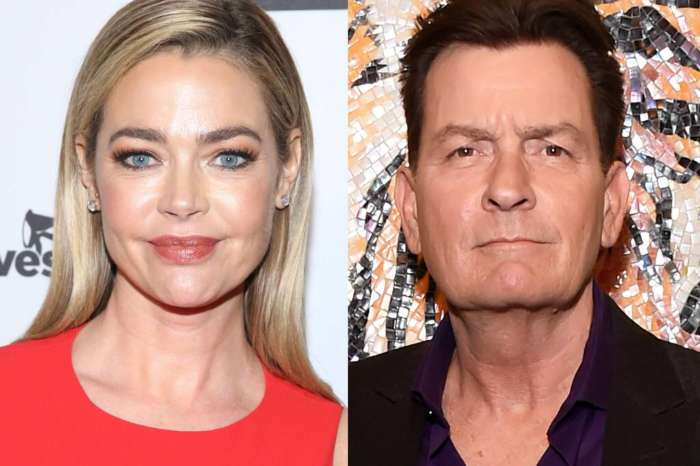Denise Richards Says Ex-Husband Charlie Sheen Owes Her Half A Million Dollars In Child Support!
