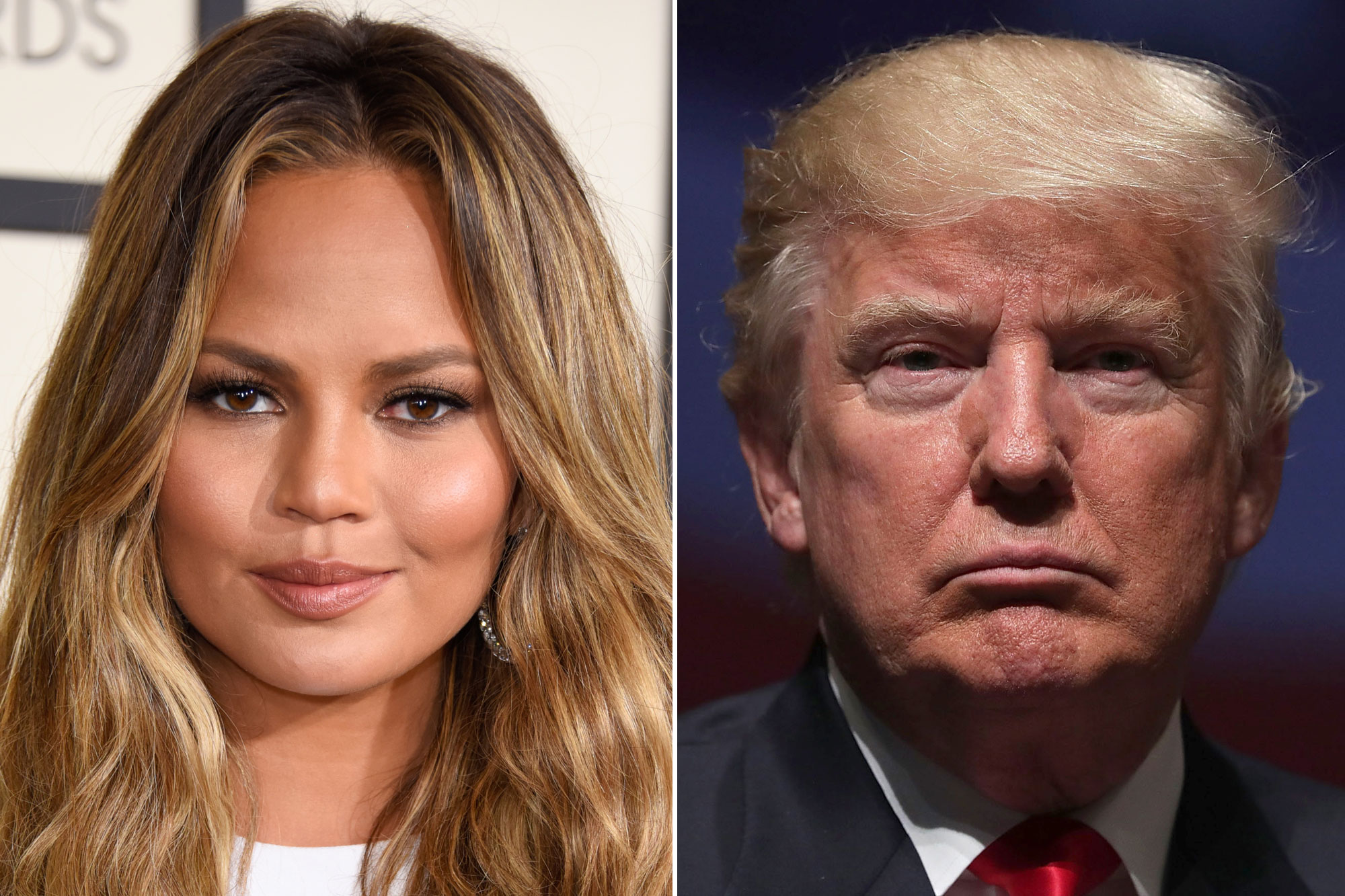 """""""chrissy-teigen-shares-savage-and-hilarious-response-to-donald-trump-referring-to-her-as-john-legends-filthy-mouthed-wife"""""""