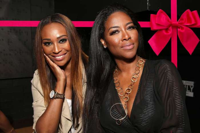 Cynthia Bailey Posts Cute Clip Of Kenya Moore's Baby Girl Brooklyn During Sleepover - 'I Love This Baby!'