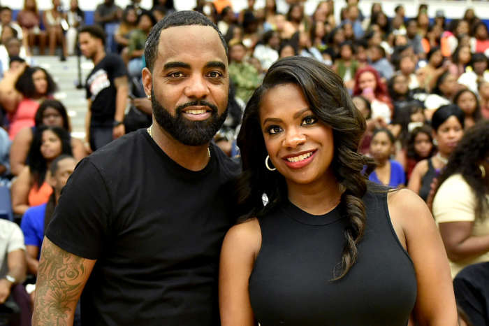 Kandi Burruss Makes Fans Laugh With Some Corny T-Shirts That She And Todd Tucker Wore