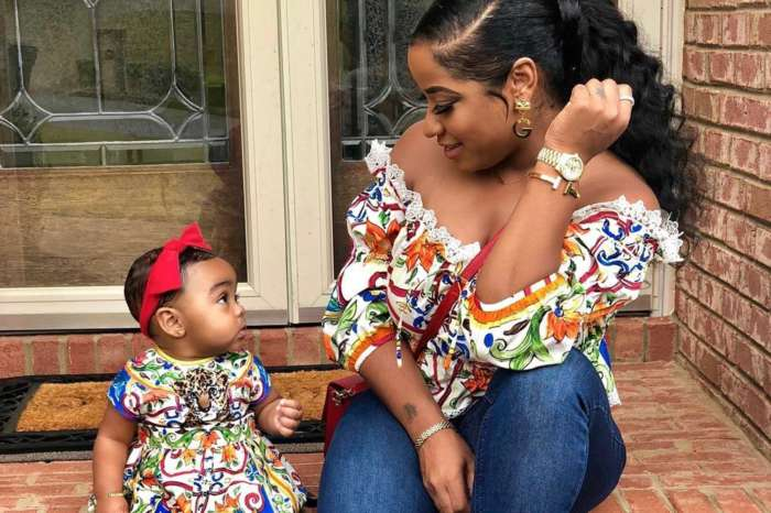 Toya Wright's Fans See A Twinkle Of Her In Reigny Rushing - Check Out The Latest Photos Featuring The Cutie Pie