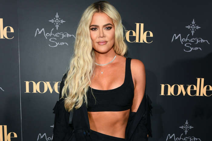 KUWK: Khloe Kardashian Shows Off Her Impressive Arm Muscles In Tight Pink Corset