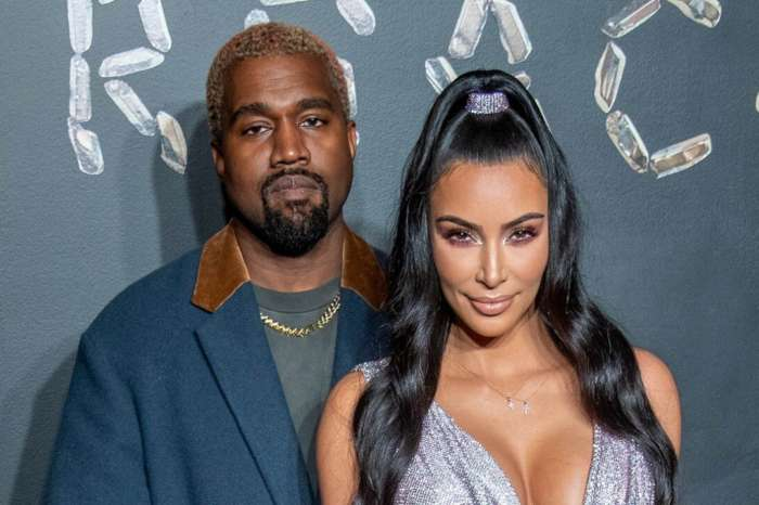 KUWK: Kim Kardashian And Kanye West Pack The PDA In Rare Pic - Check It Out!