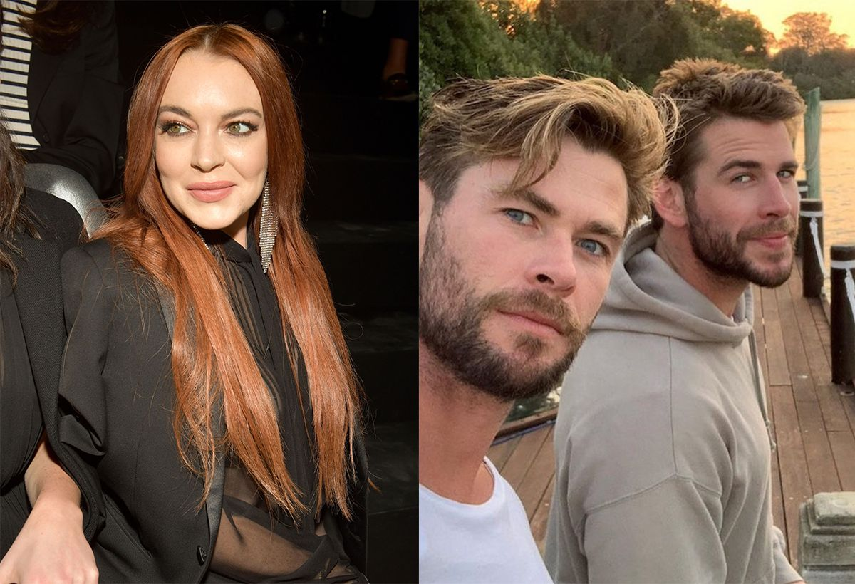 Lindsay Lohan apparently had a boyfriend, but they've now split