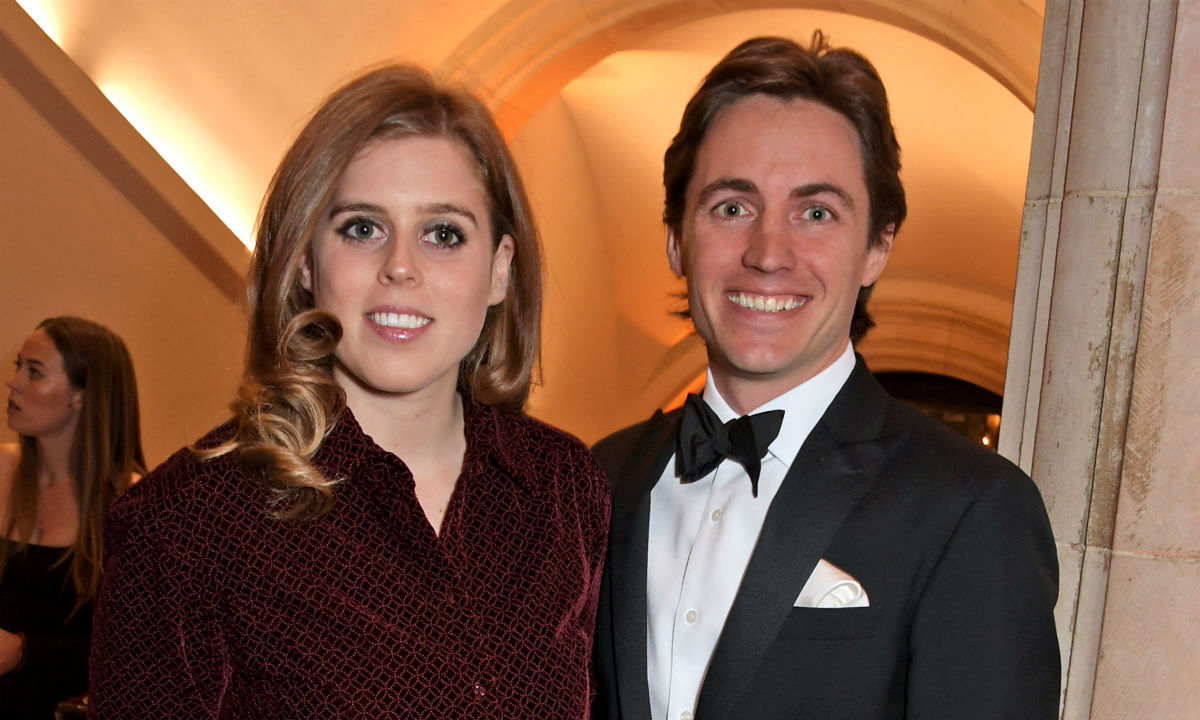 More stunning official photos of Princess Beatrice's engagement released