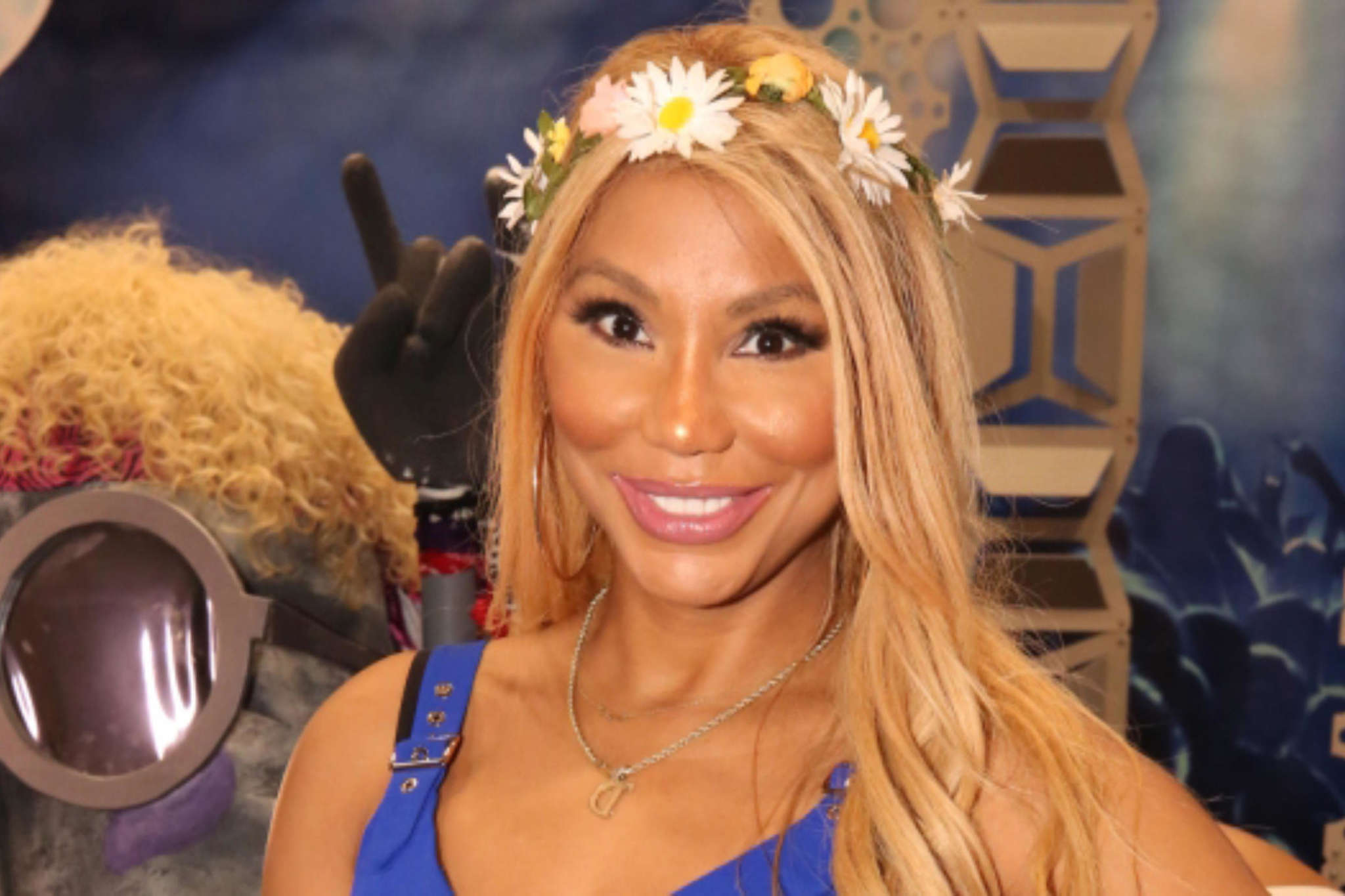 Tamar Braxton Shows Off Her Cleavage And Abs And Fans Appreciate The Jaw-Dropping Video