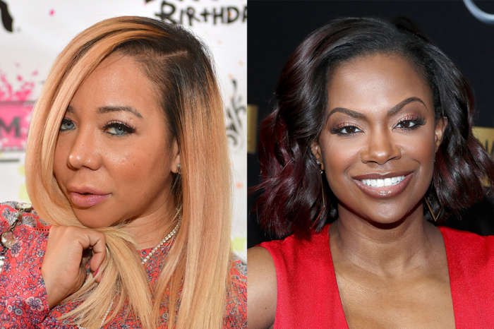Tiny Harris Praises Kandi Burruss' Cleavage - See The Photo And Check Out Kandi's Killer Fashion Game