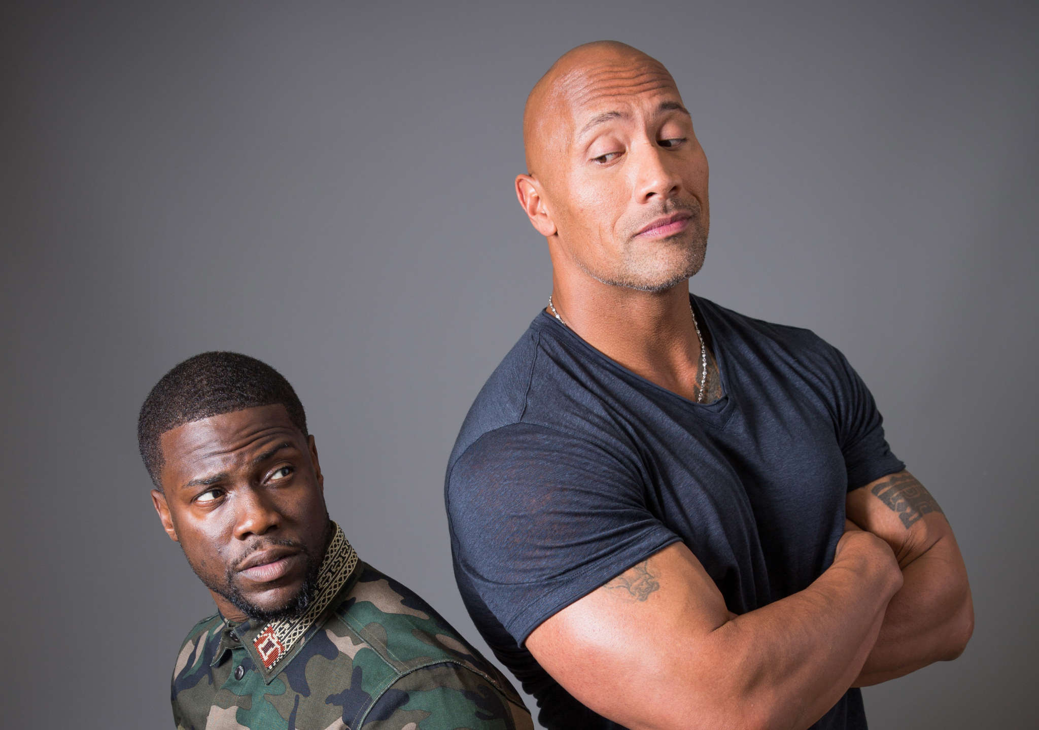 Dwayne Johnson Leaves His Honeymoon To Support Pal Kevin