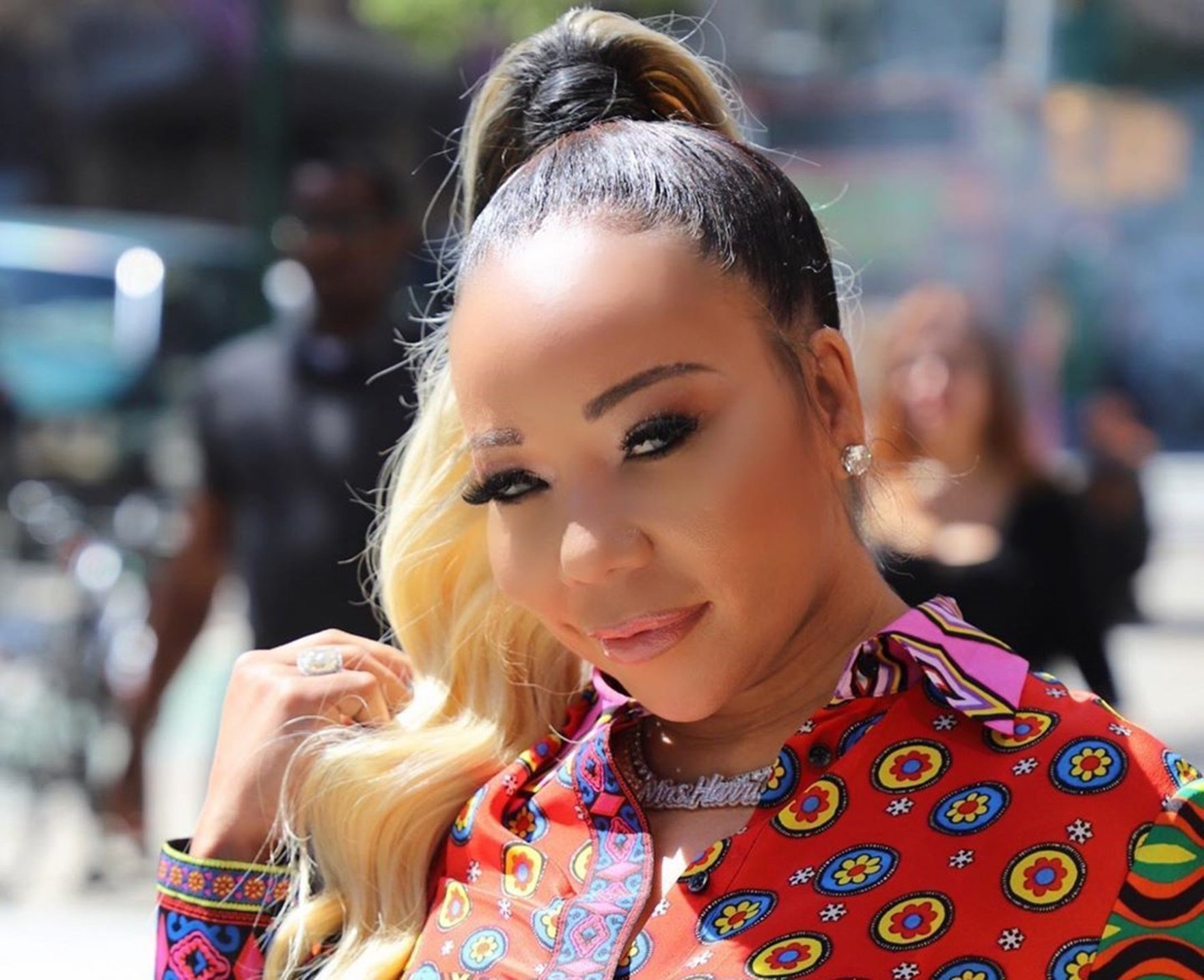 Tiny Harris Is Heartbroken By The Death Of Her Godbrother - She Shares Footage From Marquinarius 'Sanchez' Holmes' Funeral