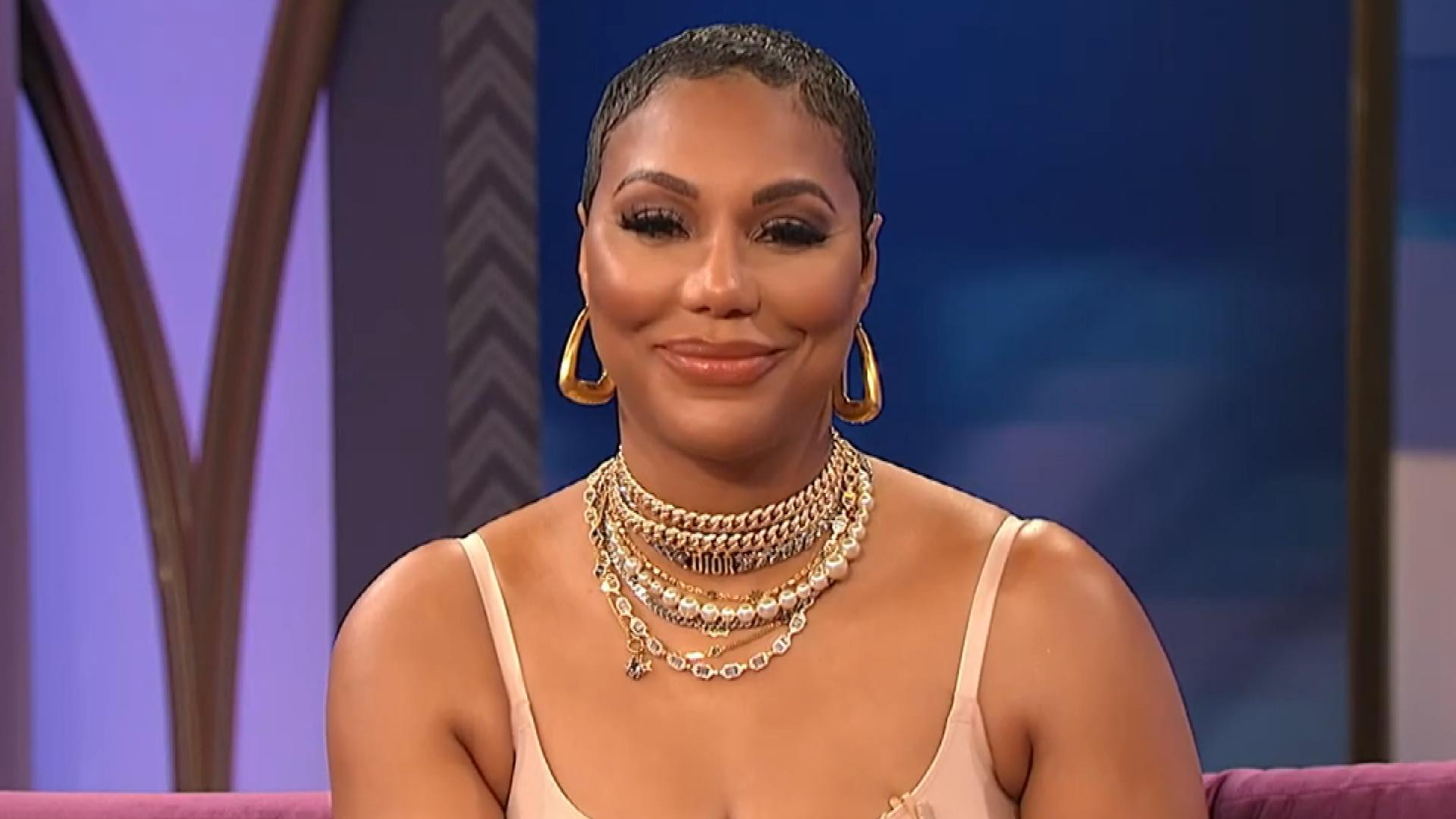 Tamar Braxton's Appearance On Wendy Williams' Show Blows Fans Away - She Is Wearing Nothing But Spanks!