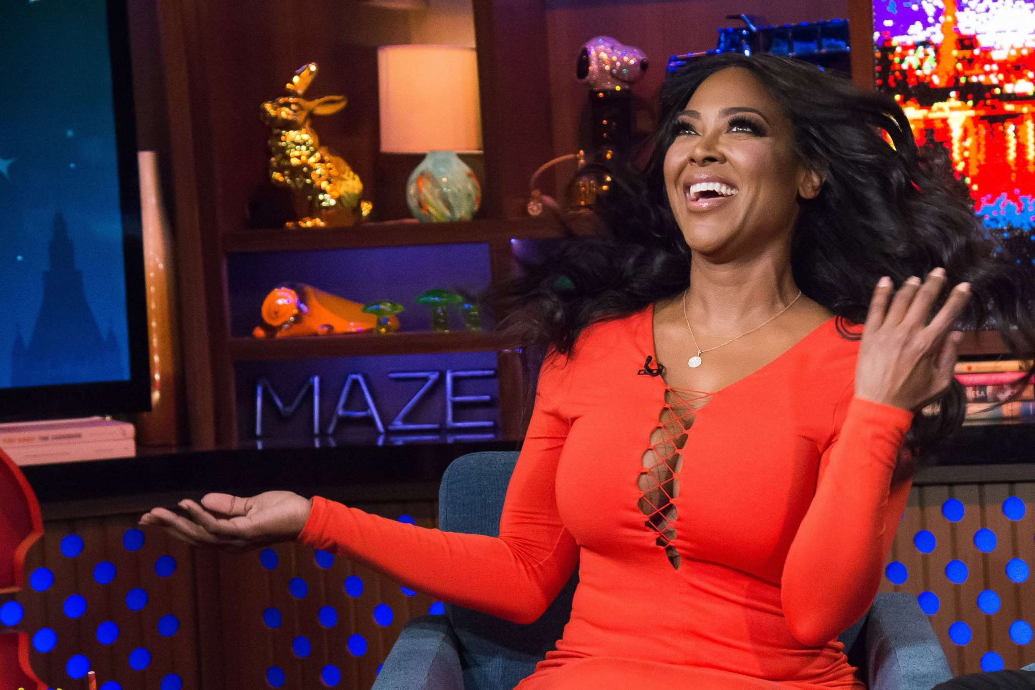 Kenya Moore Meets One Of Her Idols - See Her Photo And Emotional Message - Fans Are Begging Her To Forgive Marc Daly