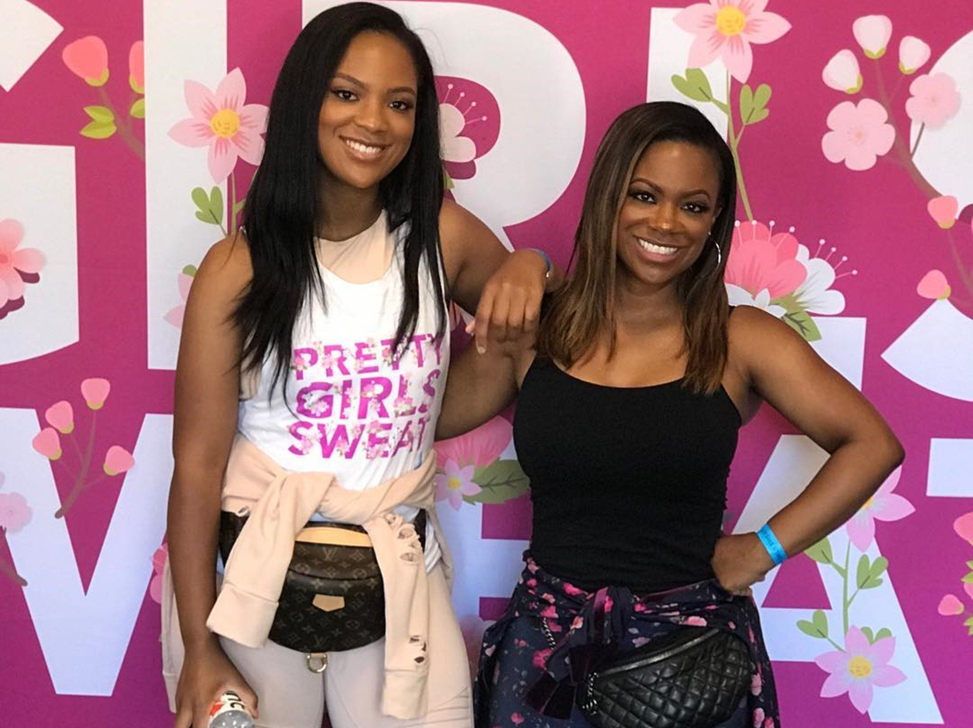 Kandi Burruss Shares A Sweet Clip Featuring Her Daughter, Riley Burruss While They Were At The Recent Fendi Event
