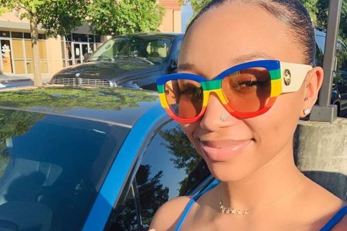 Tiny Harris' Daughter, Zonnique Pullins Shows Off Her Best Assets In A Skin-Tight Dress And Fans Are Crazy With Excitement