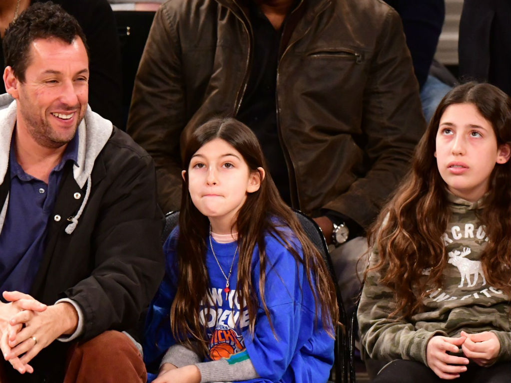 """adam-sandler-and-his-daughters-cover-taylor-swift-song-lover-at-charity-event-video-goes-viral"""