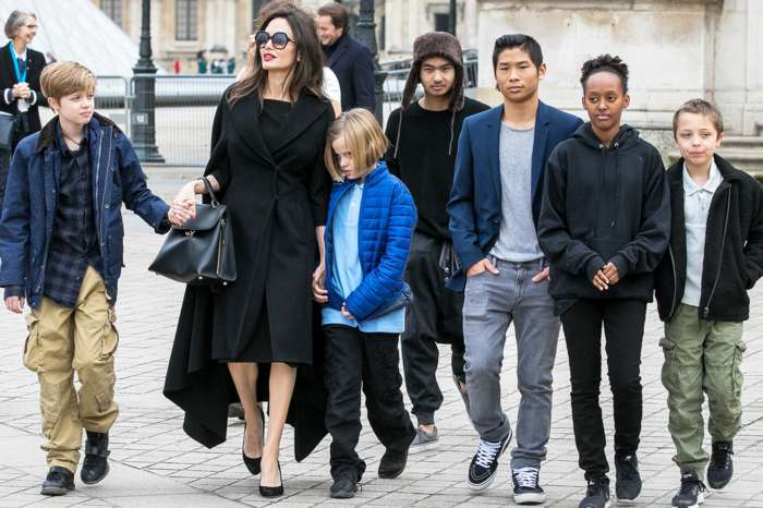 Angelina Jolie Talks About Her Split From Brad Pitt And Reveals What Her Six Children Are Running From