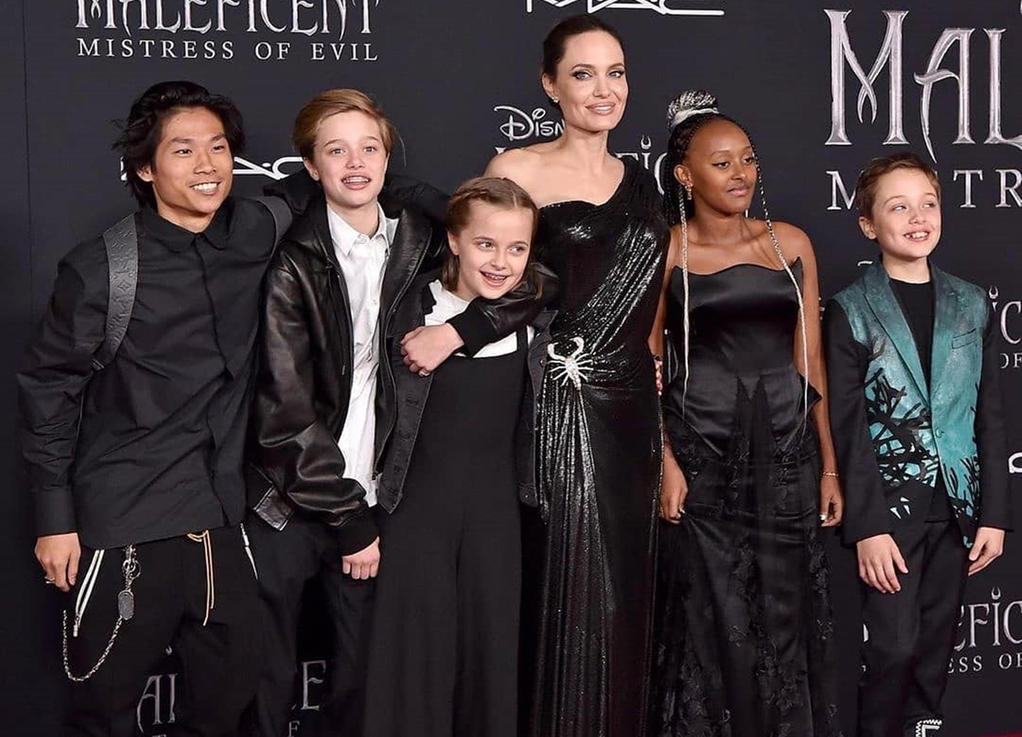 Angelina Jolie Children Brad Pitt France