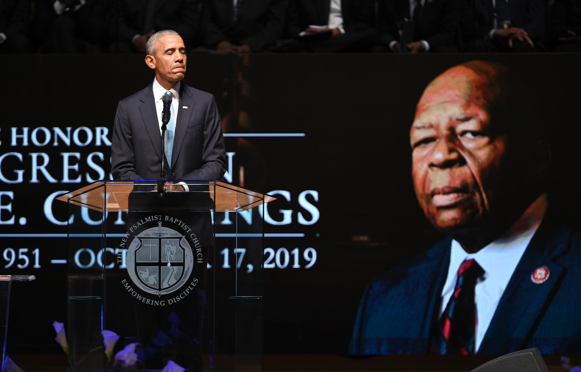 Barack Obama Elijah Cummings Eulogy