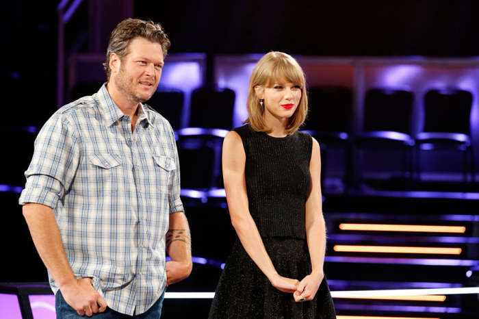 Taylor Swift Jokes That She'd Expected Blake Lively On The Voice Instead Of Blake Shelton - Check Out The Funny Vid!