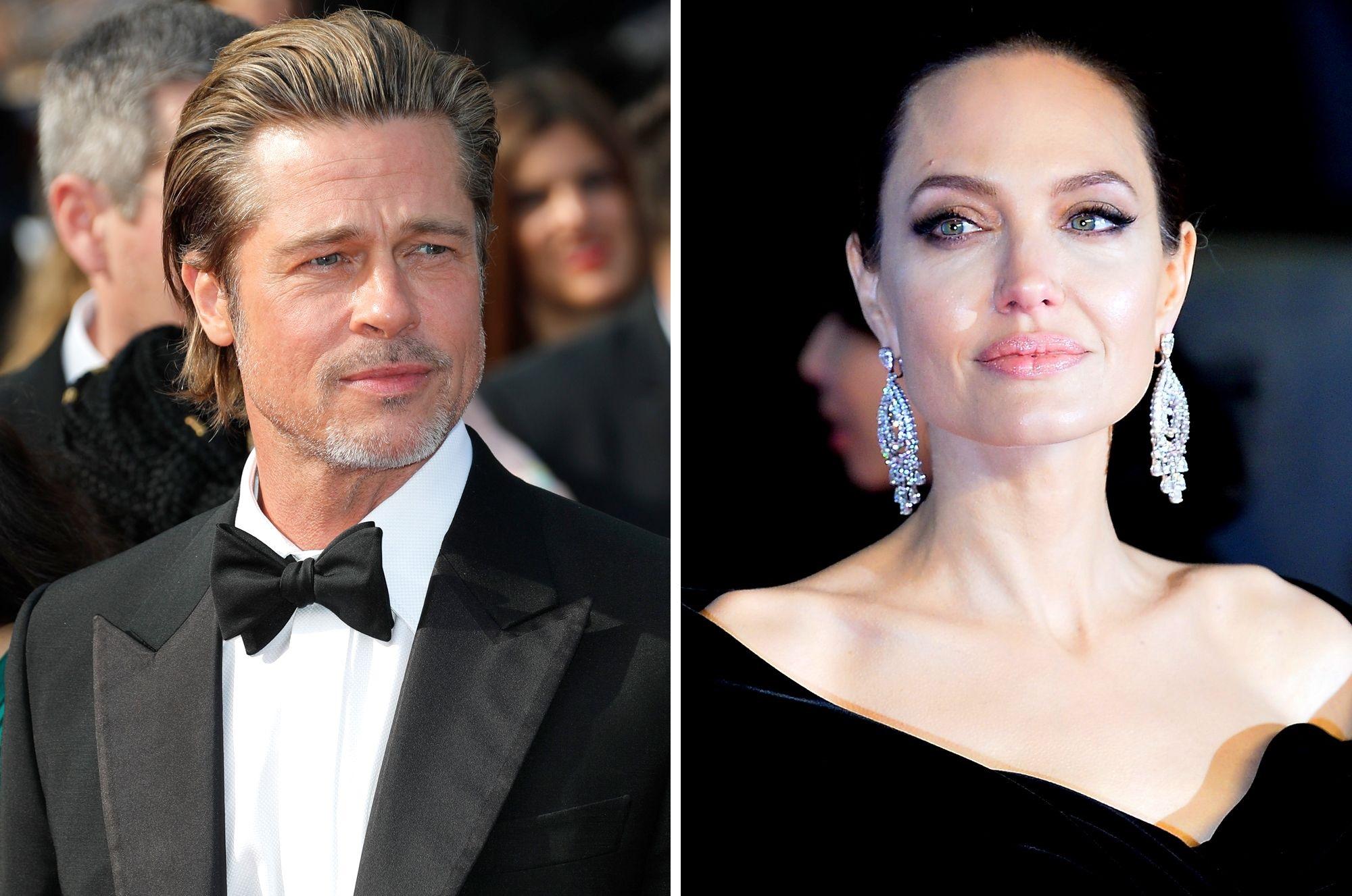 Brad Pitt Angelina Jolie Divorce Progress
